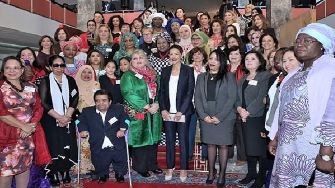Rabat : SAR Lalla Meryem inaugure le Bazar international de bienfaisance