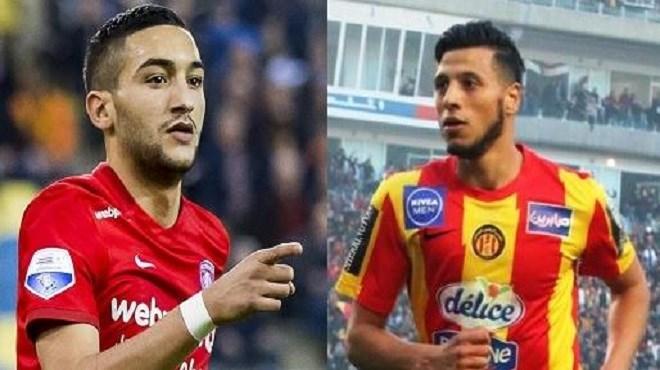 Le joueur maghrébin de l'année : Zyech 2ème, derrière le Tunisien Badri