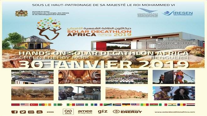 IRESEN : Solar Decathlon Africa en Septembre