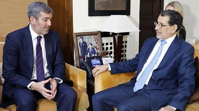 Le Maroc et les Îles Canaries réitèrent leur volonté de booster les échanges commerciaux
