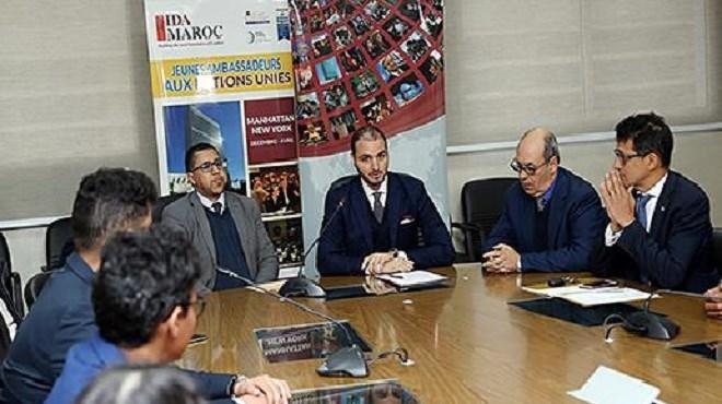 Formation : Jeunes Marocains ambassadeurs aux Nations Unies