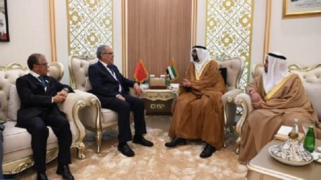 Abu Dhabi : Abdellatif Loudiyi s'entretient avec le ministre d'Etat émirati chargé de la Défense