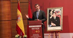 """SM le Roi Felipe VI : L'Espagne et le Maroc peuvent édifier une """"alliance pionnière et à l'avant-garde"""" du partenariat euro-méditerranéen"""