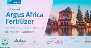 Argus Africa Fertilizer 2019 : l'OCP met la lumière sur l'innovation en agriculture durable