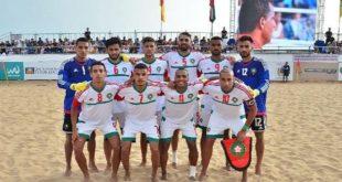 Beach-Soccer : L'équipe nationale en stage de préparation