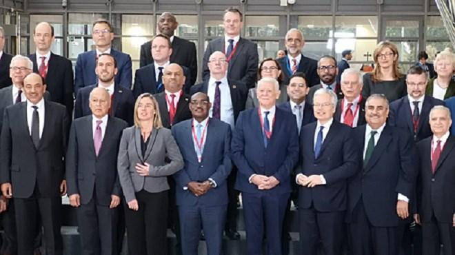 Bruxelles : Nasser Bourita prend part à la réunion ministérielle UE-Ligue Arabe