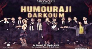 «Humouraji» : Un concert de «rires» à Mazagan