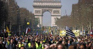 France : les «Gilets jaunes» légèrement plus nombreux ce samedi