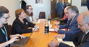 CDH : Mustapha Ramid s'entretient à Genève avec la Haute Commissaire aux droits de l'homme