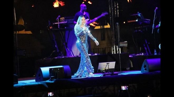La star internationale Mariah Carey se produit en Arabie Saoudite