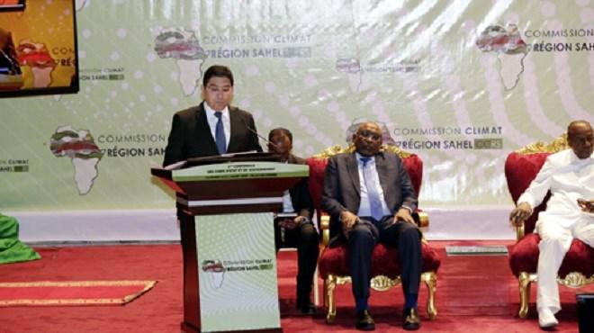 SM le Roi adresse un discours à la 1ère Conférence de la Commission Climat pour la Région du Sahel
