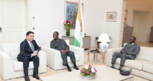 Abidjan : Alassane Ouattara reçoit en audience Nasser Bourita, porteur d'un message verbal de SM le Roi
