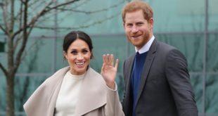 Le prince Harry et la duchesse Meghan Markle en visite au Maroc
