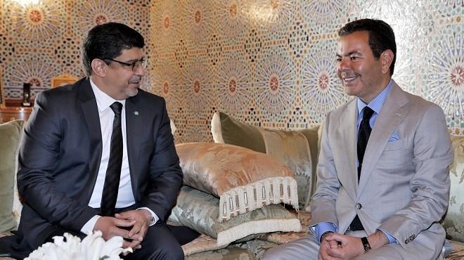 Le Prince Moulay Rachid reçoit un émissaire du président mauritanien, porteur d'un message au Roi