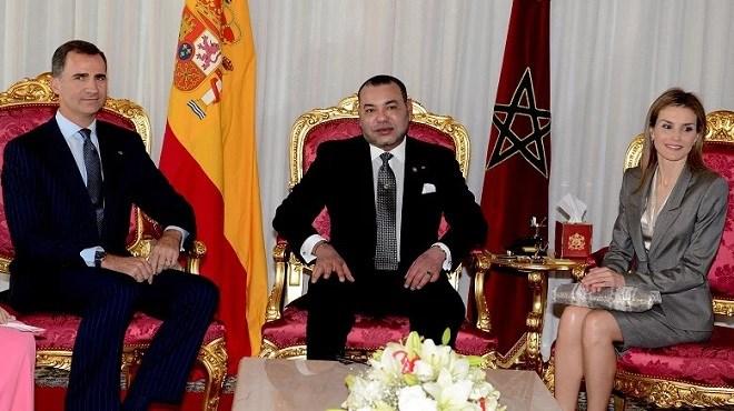Le Roi Felipe VI et la Reine Letizia en visite officielle au Maroc les 13 et 14 février