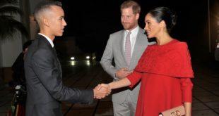 SAR le Prince Héritier Moulay El Hassan reçoit à Rabat le Prince Harry d'Angleterre et son épouse