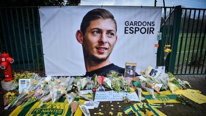 L'épave de l'avion transportant le footballeur Emiliano Sala retrouvée