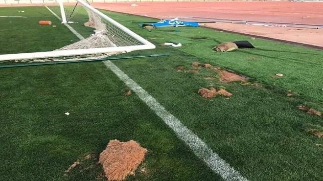 Le stade d'Oujda complètement vandalisé après des mois de rénovation
