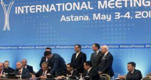 Astana : Le processus de paix toujours en marche