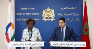 Le Maroc et l'OIF entretiennent d'excellentes relations caractérisées par une convergence de vues