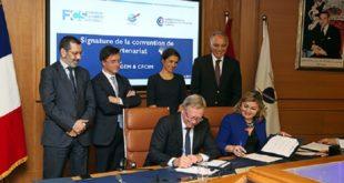 Casablanca : Signature d'une convention entre la FCS et la CFCIM