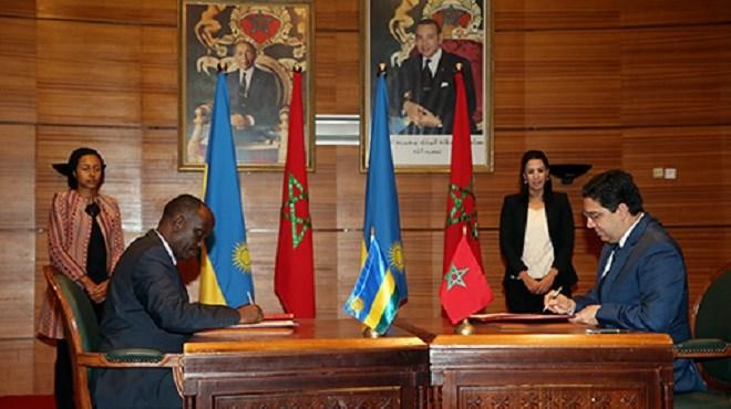 Maroc-Rwanda : Signature de plusieurs accords de coopération