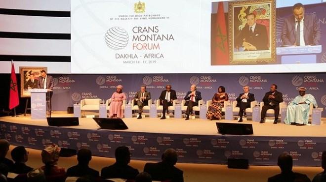 Dakhla : Et de 5 pour le Forum Crans Montana