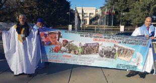 Genève : Un sit-in pour dénoncer les crimes du polisario dans les camps de Tindouf