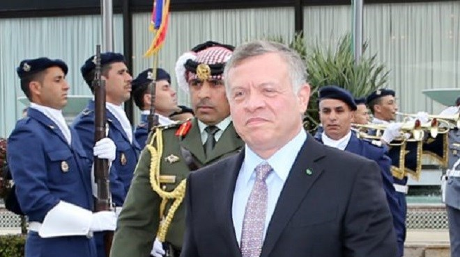 Le Roi Abdallah II de Jordanie quitte le Maroc