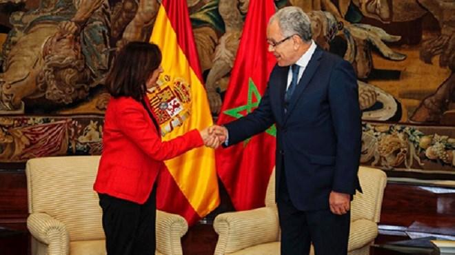 Abdellatif Loudiyi s'entretient à Madrid avec la ministre espagnole de la Défense