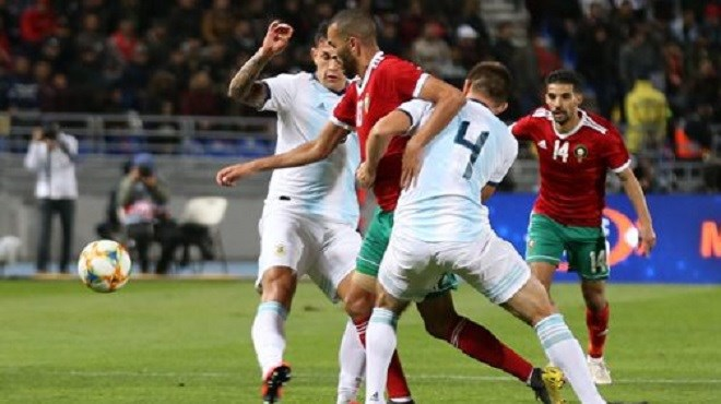 Football : Le Maroc s'incline face à l'Argentine