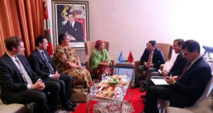 Marrakech : Bourita reçoit Mme. Amina Mohammed