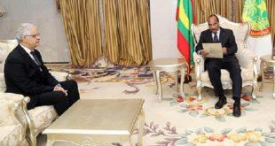 Nouakchott : Nizar Baraka remet un message écrit de SM le Roi au Président mauritanien