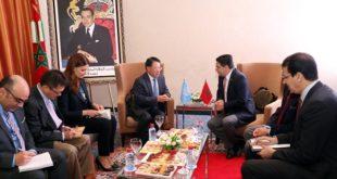 Marrakech : Bourita reçoit Li Yong