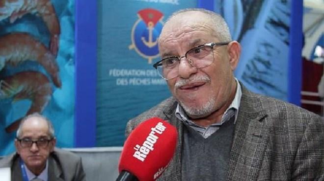Oumoulod Mohamed, Président de la Fédération des chambres des pêches maritimes