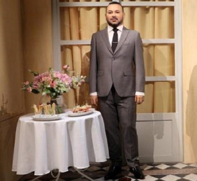 Paris : Le roi Mohammed VI a une nouvelle statue de cire au musée Grévin