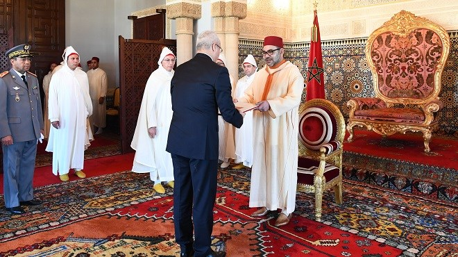 SM le Roi Roi Mohammed VI reçoit plusieurs ambassadeurs étrangers