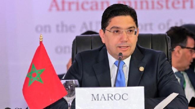 Bourita appelle l'Afrique du Sud à travailler avec le Maroc pour l'émergence d'un nouveau modèle de coopération interafricaine