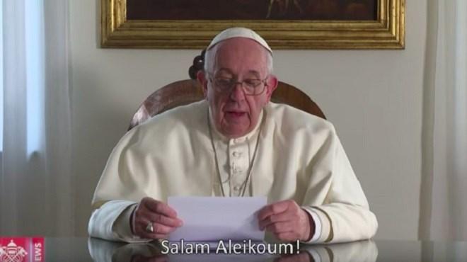 Vatican : Le message vidéo du Pape François aux Marocains