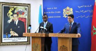 La Somalie réitère son soutien à l'intégrité territoriale du Maroc
