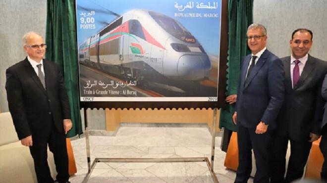 """TGV : Un timbre-poste pour """"Al Boraq"""""""