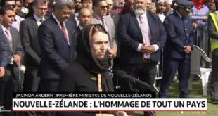 Nouvelle-Zélande : Hommage aux victimes de l'attaque terroriste (Vidéo)