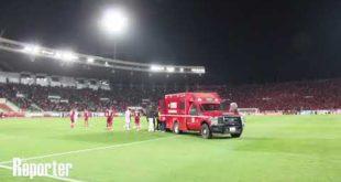 Émoi au stade Moulay Abdellah de Rabat suite à la blessure d'un gardien de but