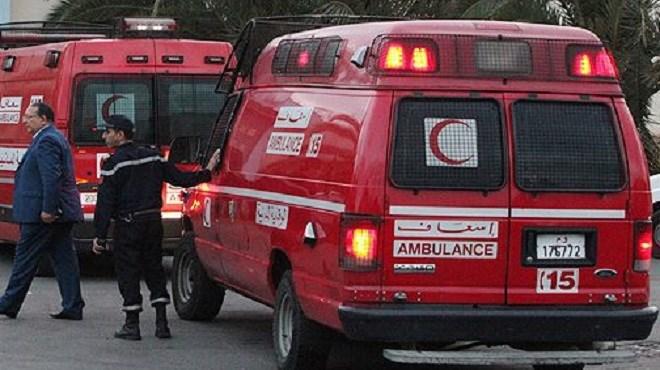 Trois morts et 44 blessés suite au renversement d'un autocar au niveau de la commune d'Imsouane