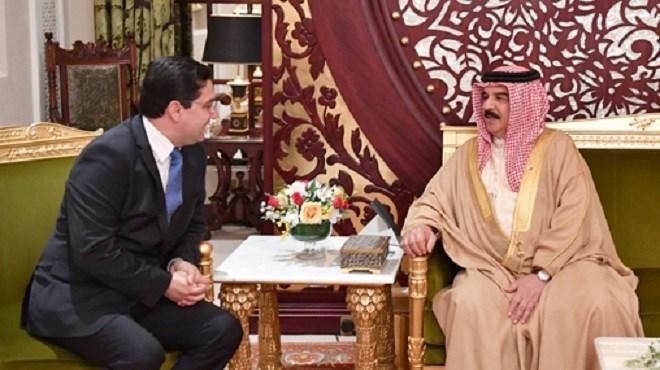 Message de SM le Roi Mohammed VI au Souverain de Bahreïn