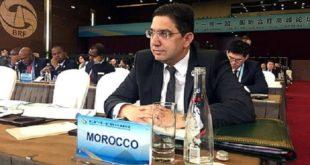 """La Chine considère le Maroc comme un acteur important dans la mise en œuvre de son grand projet stratégique """"la Ceinture et la Route"""""""