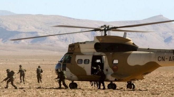 Armée : Crash d'un hélicoptère des FAR dans le sud du Maroc
