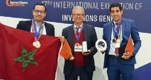 Le Maroc décroche deux médailles d'or au Salon international des inventions de Genève