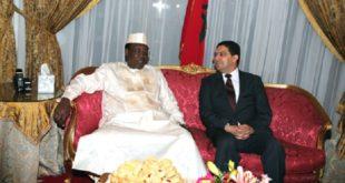 Message de SM le Roi au président tchadien