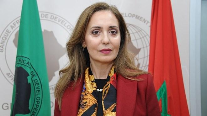 Leila Farah Mokaddem : Représentante de la BAD au Maroc